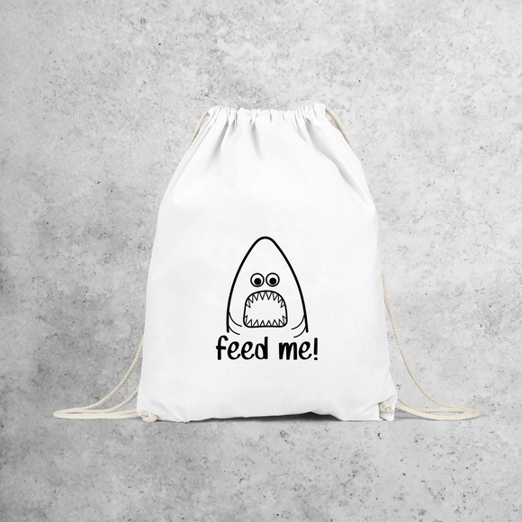 'Feed me' backpack