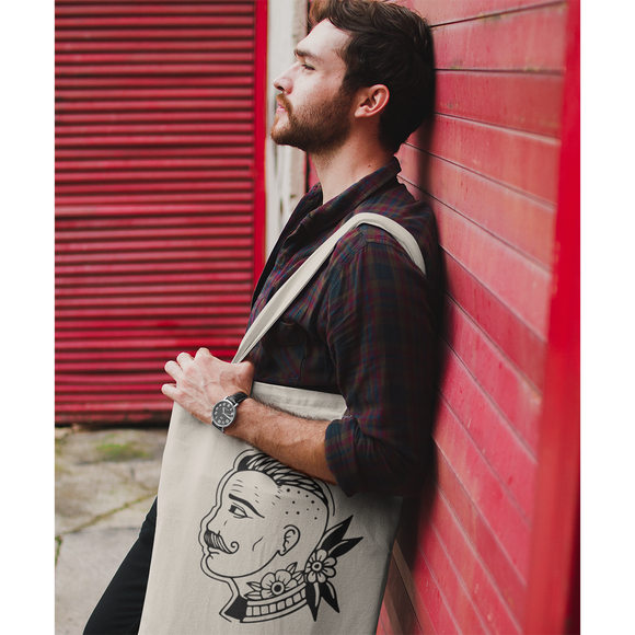 Gentleman tote bag