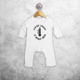 'Climate change is really real' baby romper