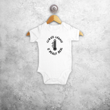 'Climate change is really real' baby shortsleeve bodysuit
