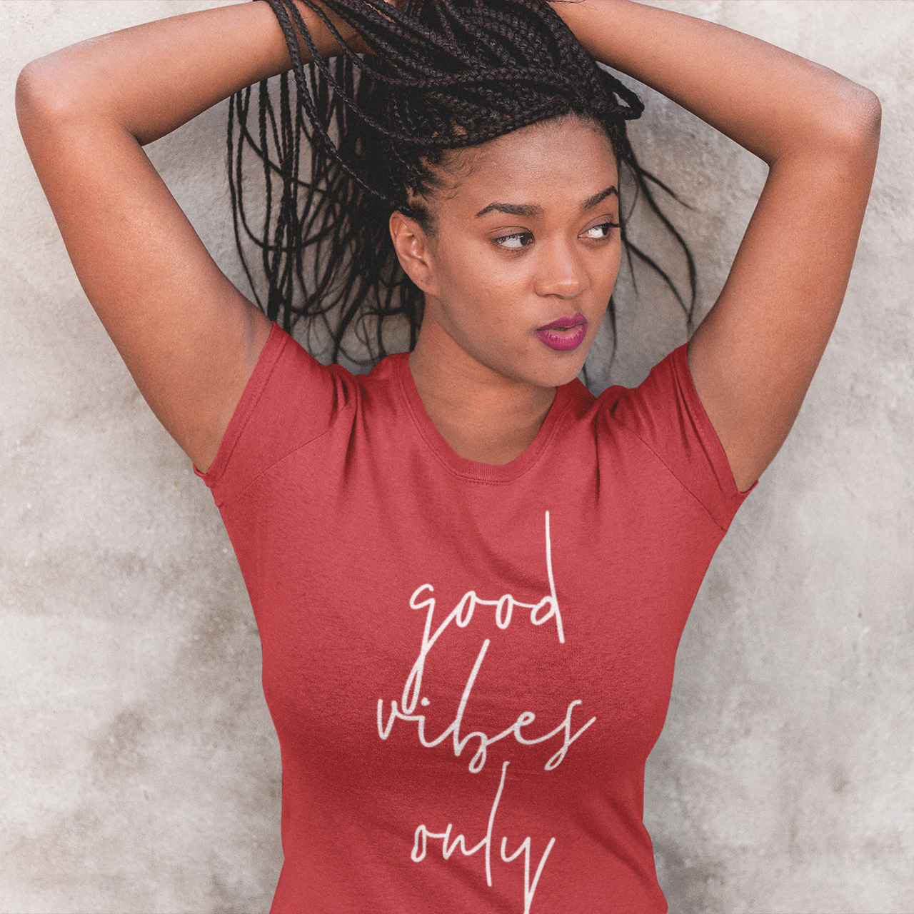 'Good vibes only' adult shirt