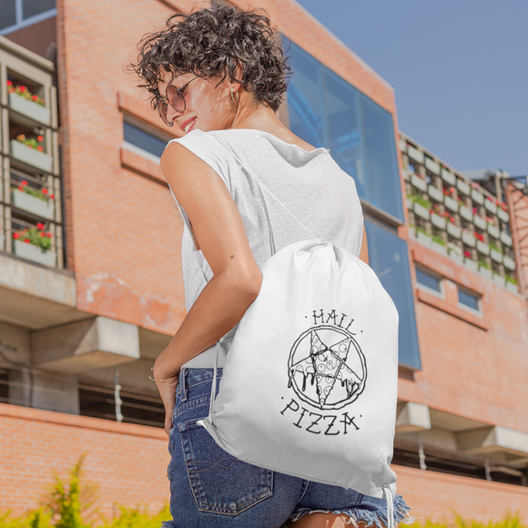 'Hail pizza' backpack
