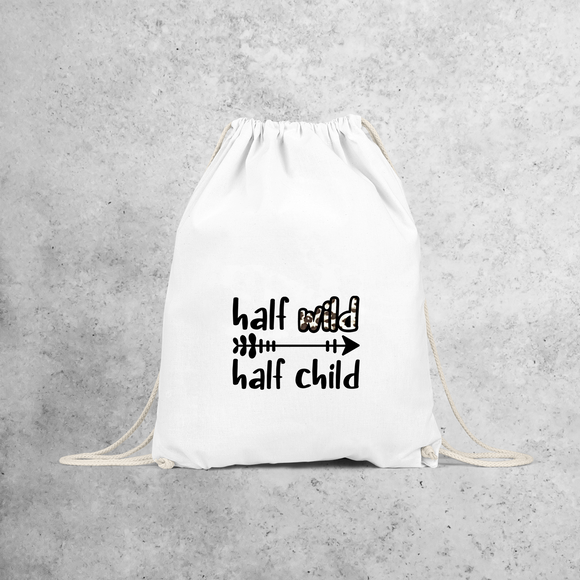'Half wild, Half child' backpack