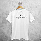 'Happy adventurer' adult shirt