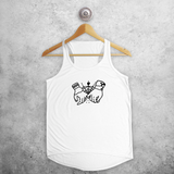Holding hands tank top