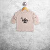'Hopeless ramentic' baby sweater