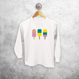Ice cream longsleeve shirt