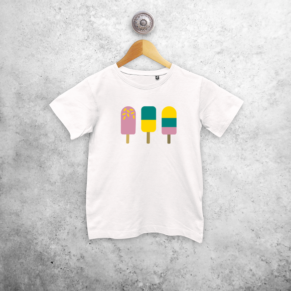 Ice cream kids shortsleeve shirt