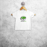 'I love you so matcha' baby shortsleeve shirt
