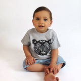Bear baby tattoo shirt