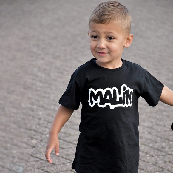 Graffiti kids shortsleeve shirt