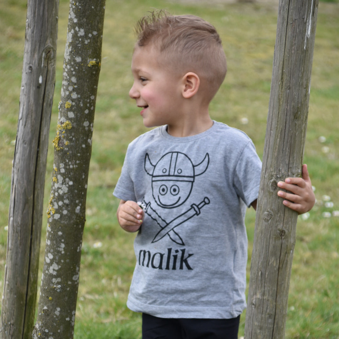 Viking kids shortsleeve shirt