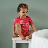 'I believe' unicorn baby shortsleeve bodysuit