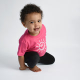 'You are my sunshine' baby shortsleeve shirt