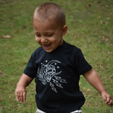 Tiger baby shortsleeve shirt
