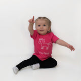 'I believe' unicorn baby shortsleeve shirt