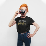 'Je m'appelle fabulous' adult shirt