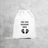 'Keep your footprint small' backpack