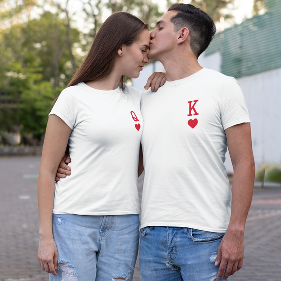 'King of hearts' adult shirt