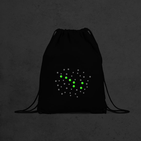 Little bear glow in the dark backpack