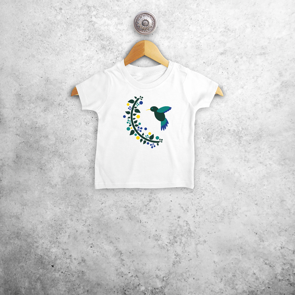 Hummingbird baby shortsleeve shirt