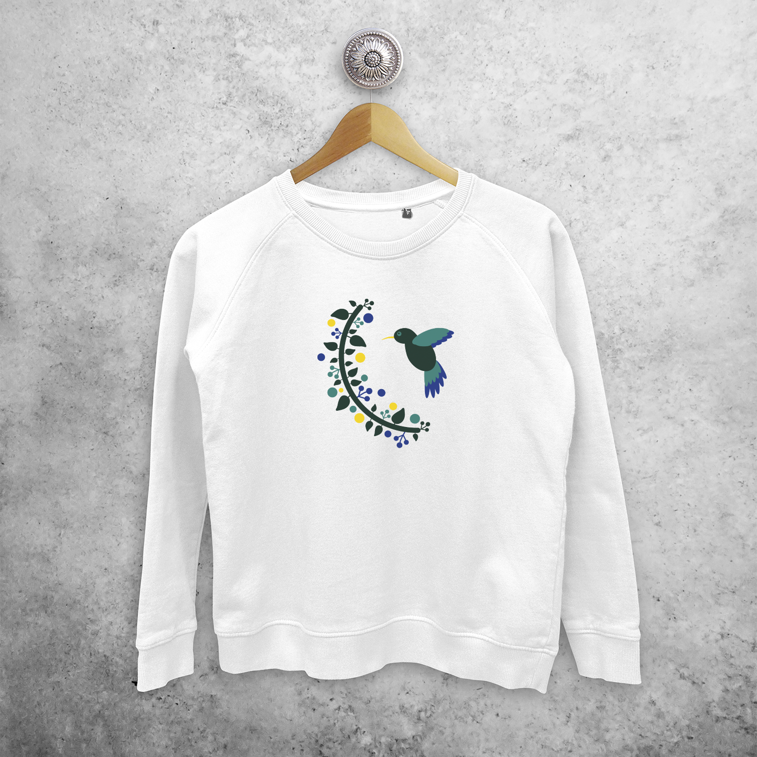 Hummingbird sweater