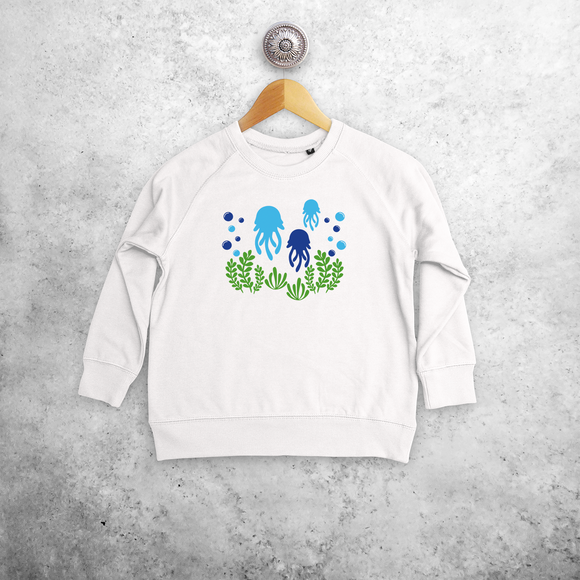 Jellyfish kids sweater