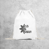 'Let it snow' backpack