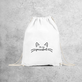 'Little miss purrrfect' backpack