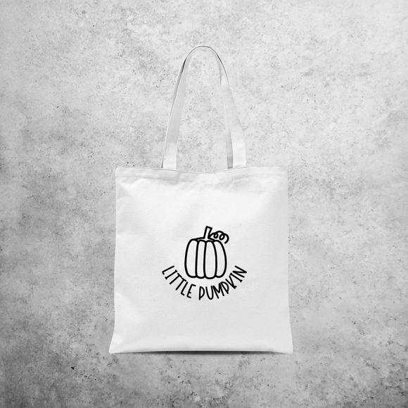 'Little pumpkin' tote bag