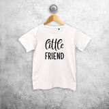 'Little friend' kids shortsleeve shirt