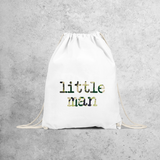 'Little man' backpack