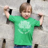 'Locally grown' kids shortsleeve shirt