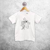 'Lucky' kids tattoo shirt