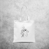 'Lucky' tote bag