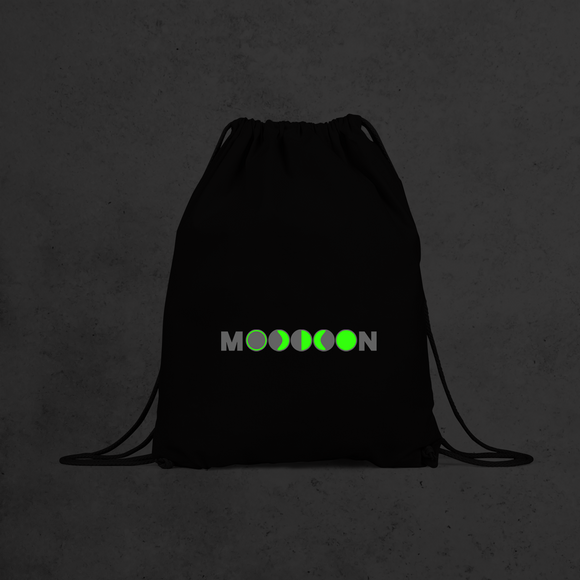 Moon glow in the dark backpack