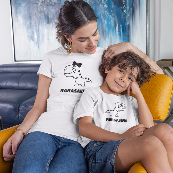 'Mamasaurus' adult shirt