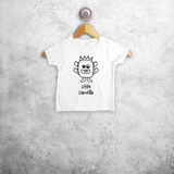 Monster baby shortsleeve shirt