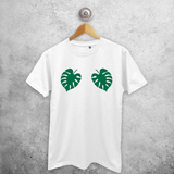 Monstera adult shirt