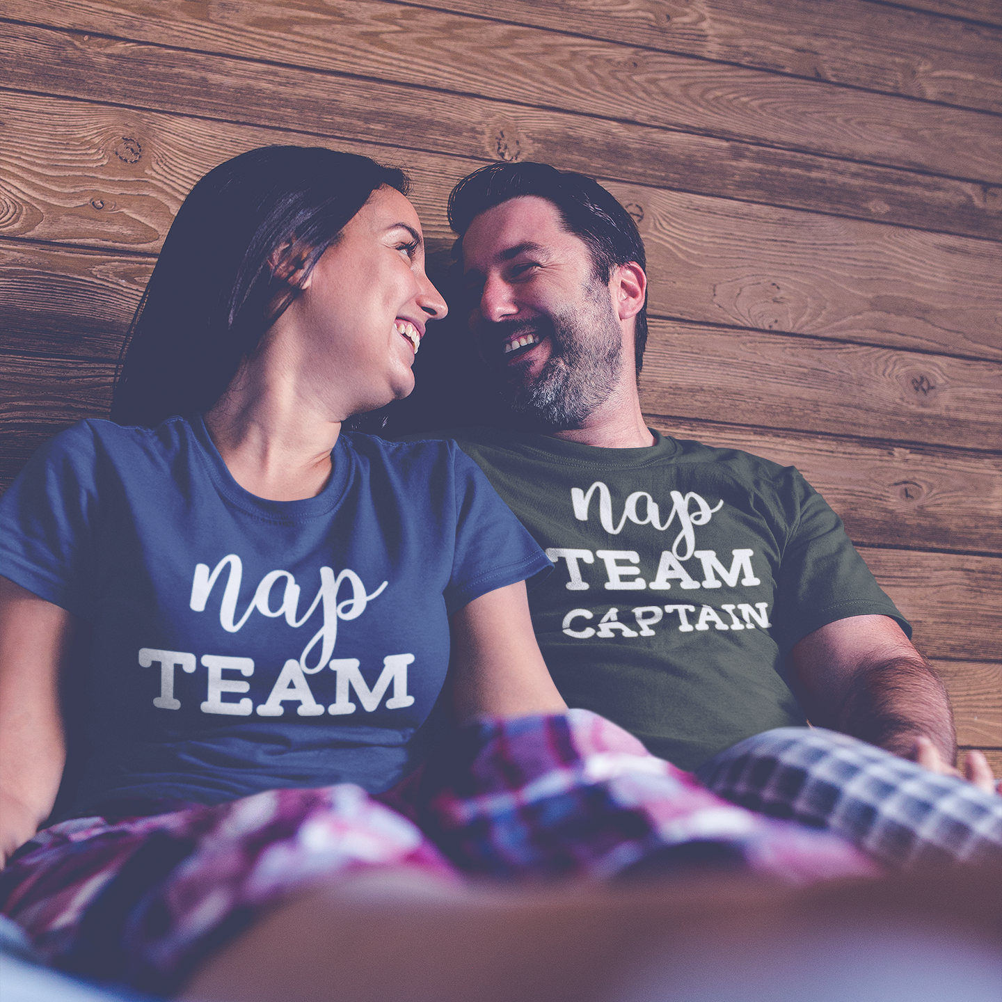 'Nap team captain' adult shirt