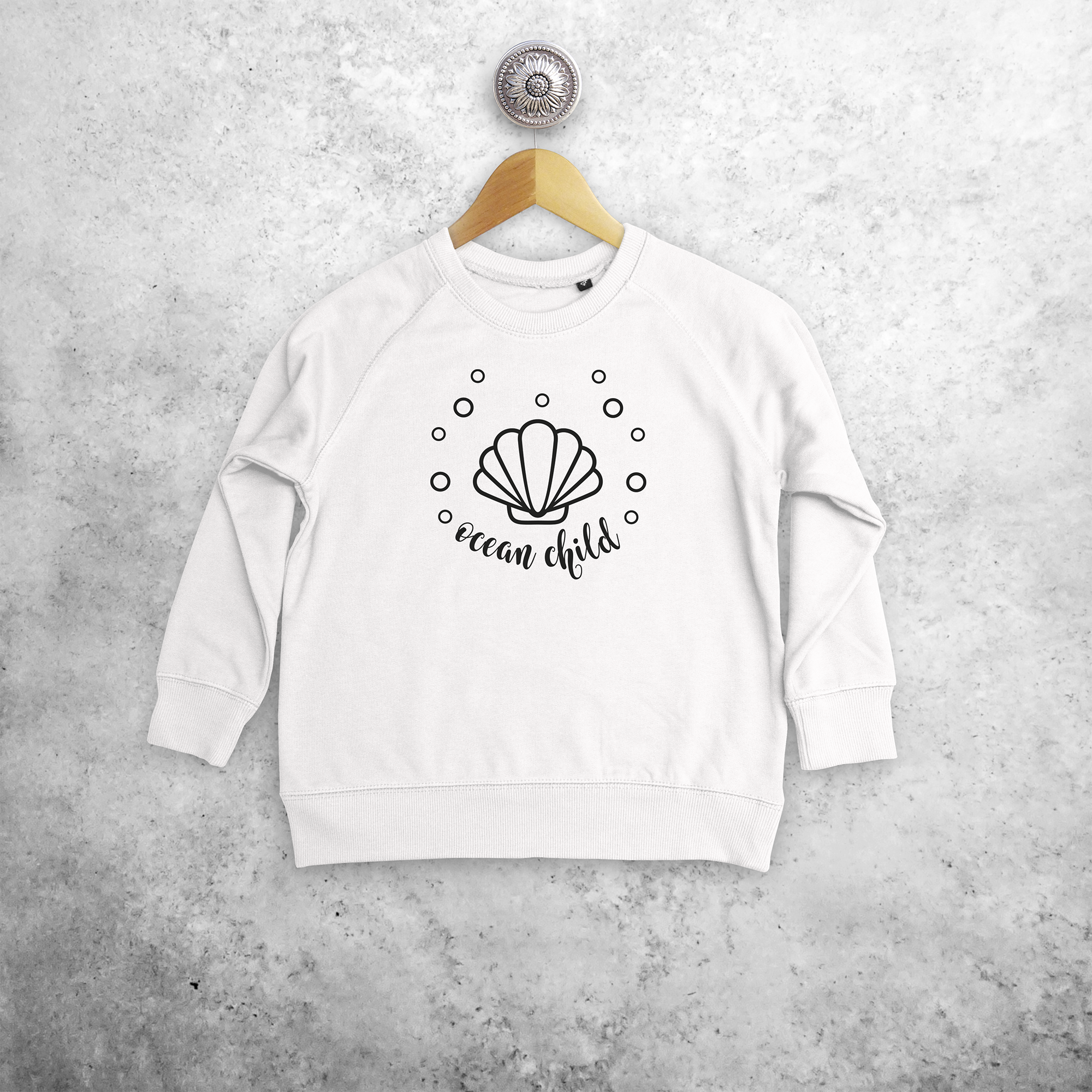 'Ocean child' kids sweater