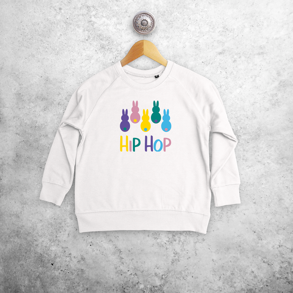 'Hip hop' bunnies kids sweater