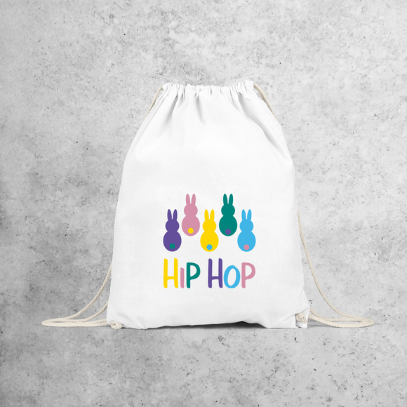 'Hip hop' bunnies backpack