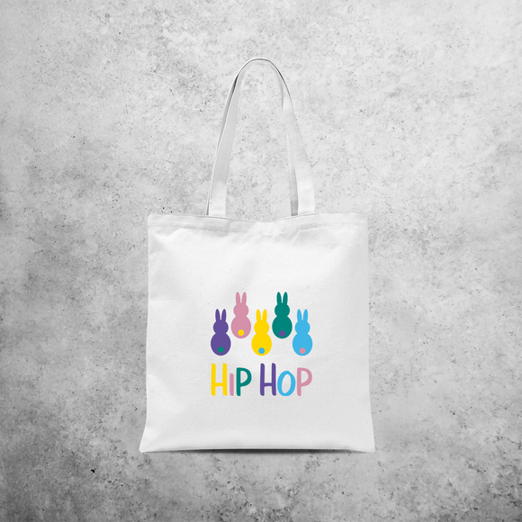 'Hip Hop' bunnies tote bag