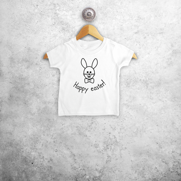 Easter bunny baby shortsleeve shirt
