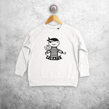 Pirate kids sweater