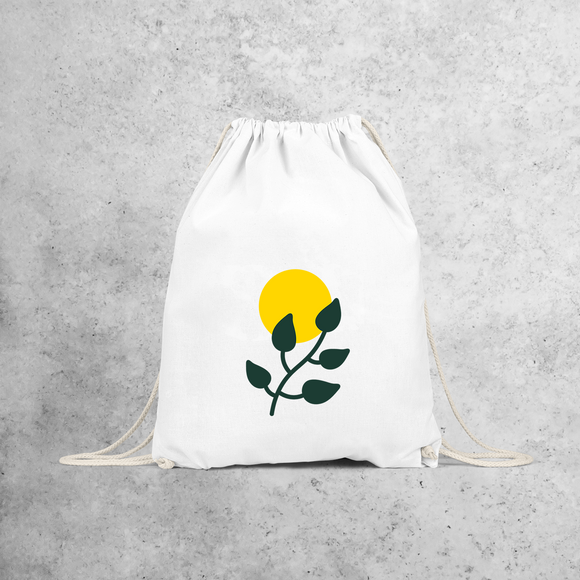 Plant and sun backpack