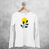 Plant and sun adult longsleeve shirt
