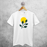 Plant and sun adult shirt