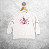 Plants kids sweater